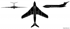 handley page victor model airplane plan