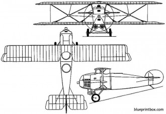 hanriot hd15 1922 france model airplane plan