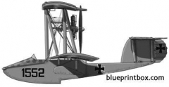 hansa w20 model airplane plan