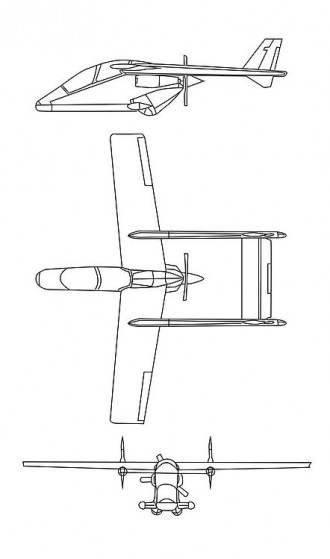 Harlac model airplane plan