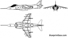 harrier av8 model airplane plan