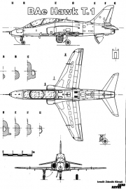 hawk 1 3v model airplane plan