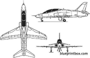 hawk t1 model airplane plan