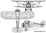 hawker heron 1925 england model airplane plan