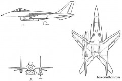 hawker p1214 3 model airplane plan
