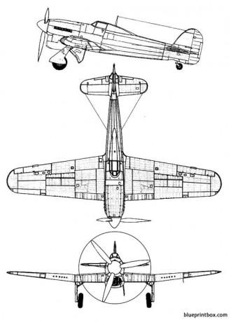 hawker typhoon mk ia model airplane plan