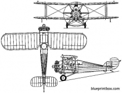 hawker woodcock ii 1924 england model airplane plan