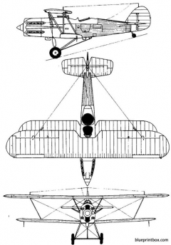 hawkerhector model airplane plan