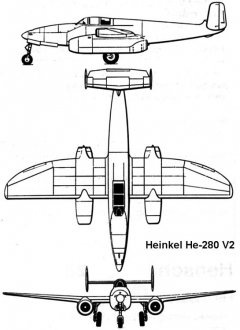 he280 3v model airplane plan
