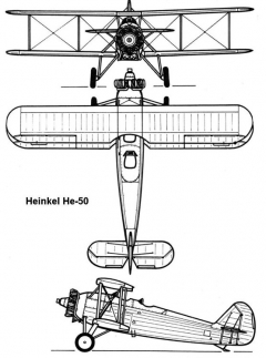 he50 3v model airplane plan