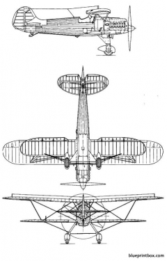 heinkel he 51 2 model airplane plan
