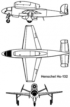 henschel132 3v model airplane plan