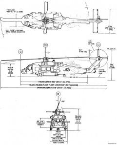 hh 60h model airplane plan