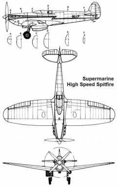 highspeed 3v model airplane plan