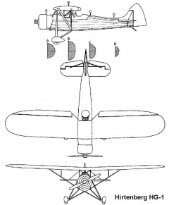 hirtenberg 3v model airplane plan