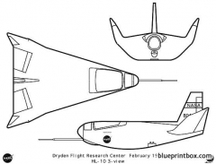 hl 10 model airplane plan