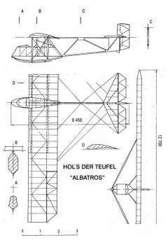 holsderteufel 3v model airplane plan