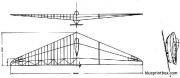 horten h i model airplane plan