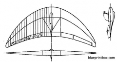 horten parabel model airplane plan