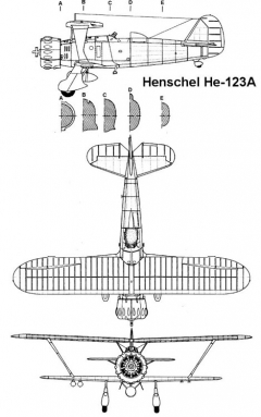 hs123 1 3v model airplane plan