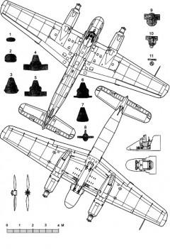 hs129a 2 3v model airplane plan