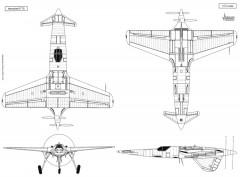 hsp75big model airplane plan