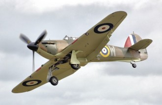 Hawker Hurricane - Various scales model airplane plan