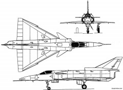 iai kfir 1971 israel model airplane plan