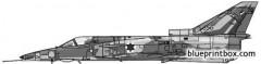 iai kfir c2 model airplane plan