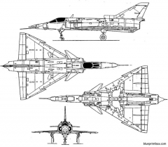 iai kfir c2 2 model airplane plan