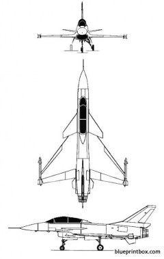 iai lavi 2seat model airplane plan