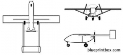 iai pioneer (uav) model airplane plan