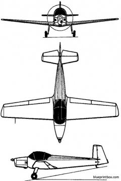 iar 813 1950 romania model airplane plan