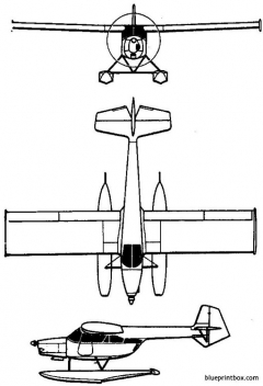 iar 818 1960 romania model airplane plan