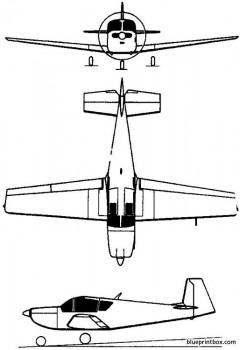 iar 823 1973 romania model airplane plan