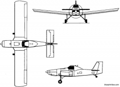 iar 827 1970 romania model airplane plan