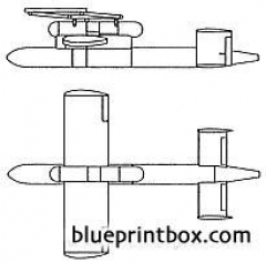 ijn i 1 guided missile model airplane plan