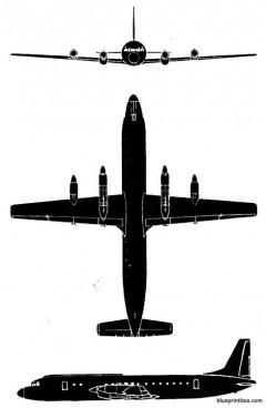 il 18p model airplane plan