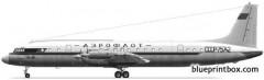 ilyushin il 18 model airplane plan