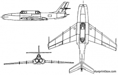 ilyushin il 40 model airplane plan