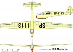 is2 3v model airplane plan
