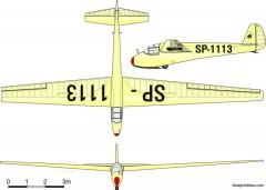 is 2 mucha ter model airplane plan