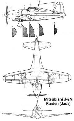 jack 2 3v model airplane plan