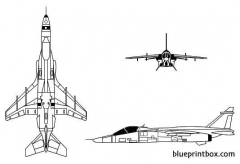 jaguar model airplane plan