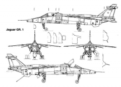 jaguar 1 3v model airplane plan