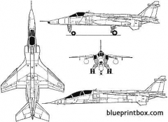 jaguar gr 1a model airplane plan
