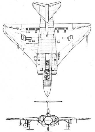 javelin 2 3v model airplane plan