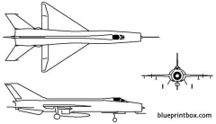 jian j8 model airplane plan
