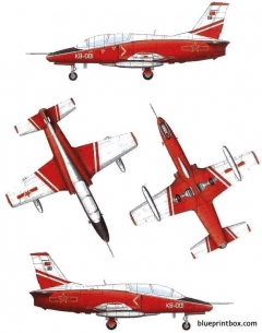 jl 8 k 8 karakorum model airplane plan