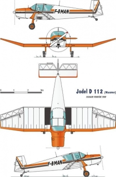 jodeld 112 model airplane plan